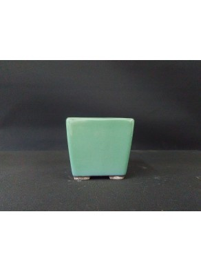 Maceta semi-cascada cuadrada 8.5x8.5x9.2cm