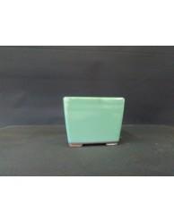 Maceta semi-cascada cuadrada 11.2x11.2x8.7cm