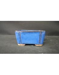 Maceta rectangular 12x8.6x5.8cm.