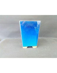 Maceta cuadrada/cascada 13.5x13.5x18.5cm